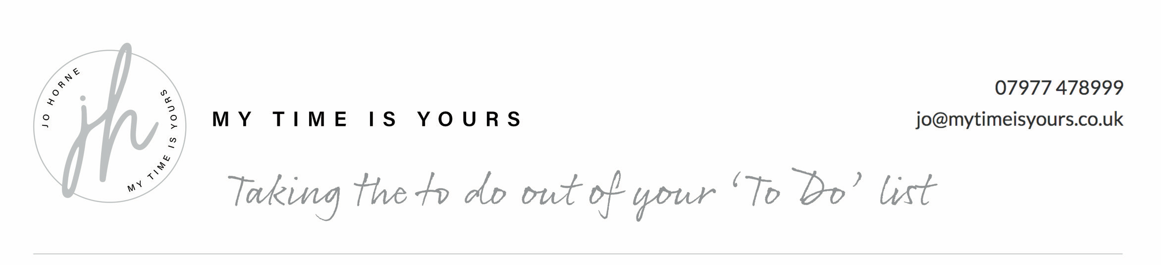 My Time is Yours Logo